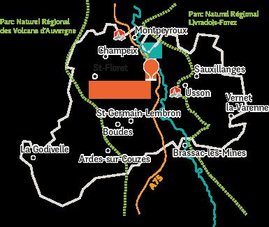 Auvergne Sunshine Pays dIssoire Tourist Office