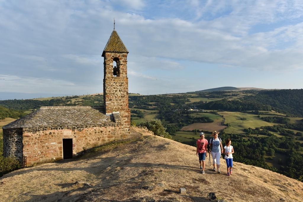 Notre Dame du Mont Carmel, Pic du Brionnet, Saurier, Puy-de-Dôme, Auvergne