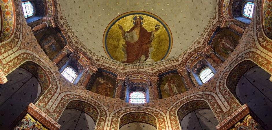 Choir, abbey Saint-Austremoine, Issoire © OT Pays d'Issoire