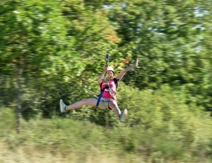 Zip lines with Crapahutte à Orbeil
