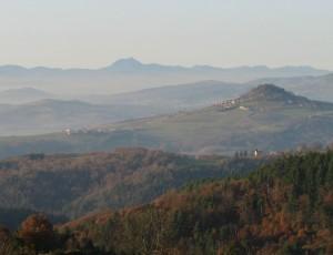 Chaîne des Puys since Regional Nature Park of Livradois-Forez