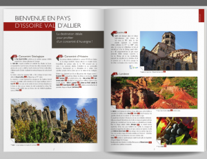Brochure interactive, office de Tourisme du Pays d'Issoire