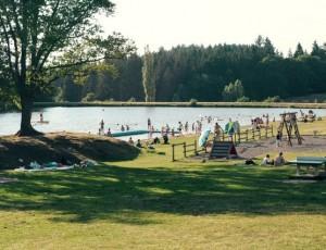 Vernet-la-Varenne lake