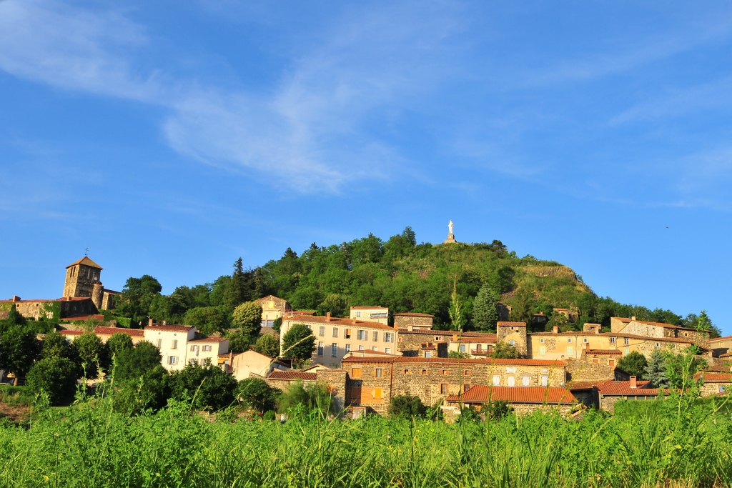 Usson, place of exile for the Queen Margot