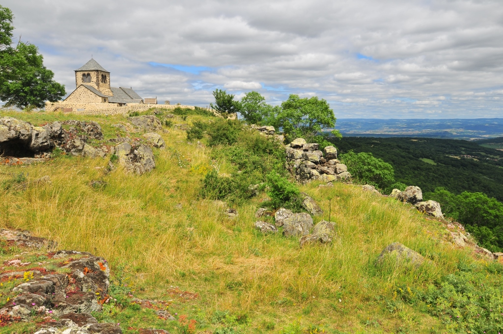 hillside chapel, Dauzat-sur-Vodable, Auvergne