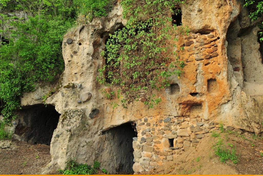 Caves of Perrier, Puy-de-Dôme, Auvergne
