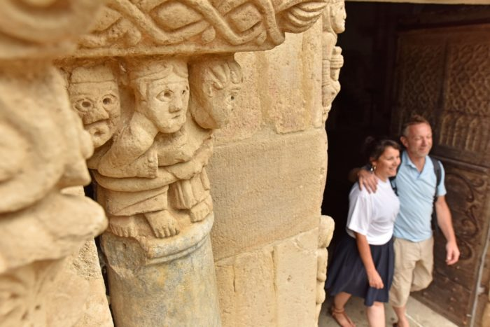 Eglise Notre Dame de Mailhat à Lamontgie, à 15 minutes d'Issoire en Auvergne