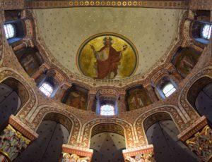 églises romanes majeures de basse-auvergne, choeur de l'abbatiale Saint-Austremoine, Issoire
