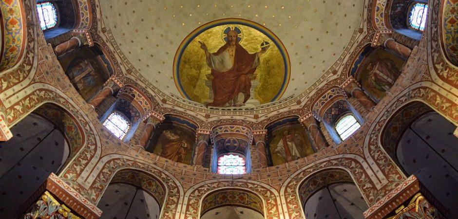 Choeur, abbatiale Saint-Austremoine, Issoire © OT Pays d'Issoire