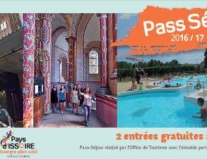 pass séjour du Pays d'Issoire 2016/2017