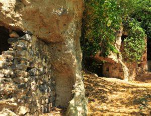 Les grottes de Perrier près d'Issoire