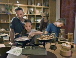 Visite en famille de l'exposition à la tour de l'horloge