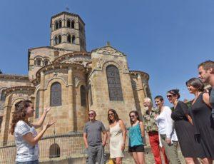 Visite guidée du chevet de l'abbatiale Saint-Austremoine à Issoire