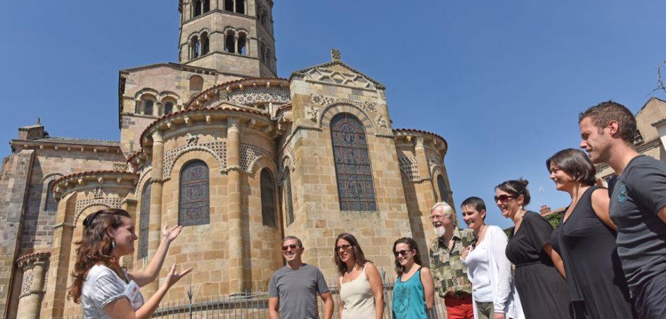 Abbatiale Saint-Austremoine © J. Damase, OT Pays d'Issoire