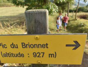 Randonnée du Pic de Brionnet au départ de Saurier, Puy-de-Dôme, Auvergne