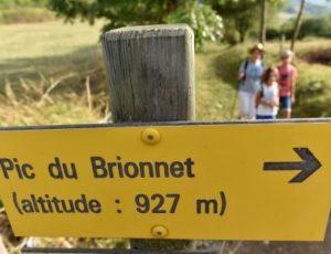 Randonnée autour du Pic de Brionnet dans le Pays d'Issoire