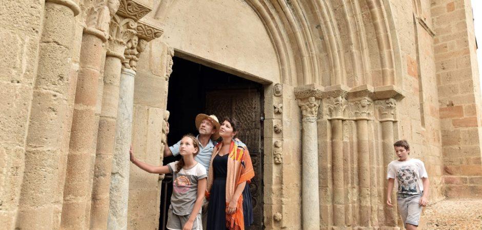 Eglise de Mailhat ©J.Damase, OT Pays d'Issoire