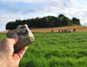 Balade découverte à la recherche de l'améthyste dans le Parc du Livradois-Forez