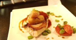 assiette gastronomique, restaurant le diapason