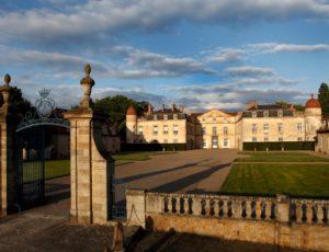 Entrée du château de Parentignat, près d'Issoire