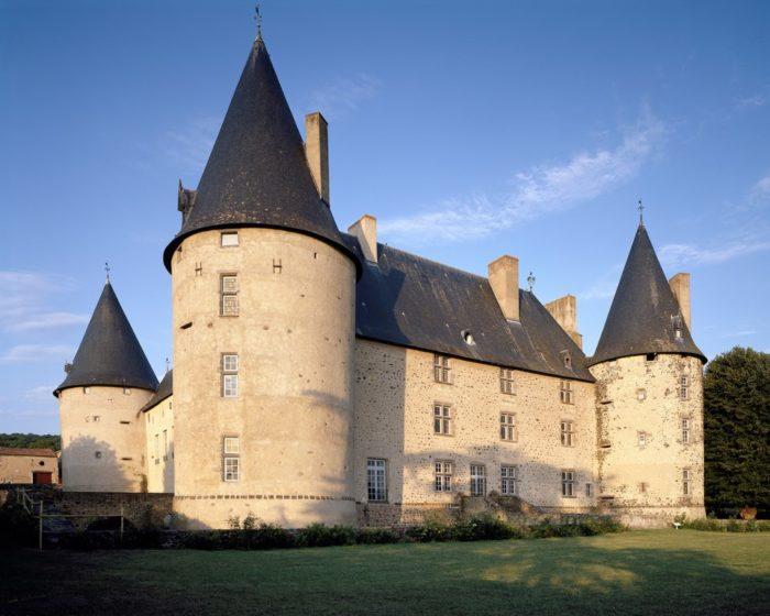 Château renaissance de Villeneuve-Lembron près d'Issoire
