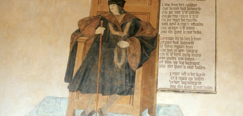 Portrait de Rigaud d'Aureille ©Centre des Monuments Historiques