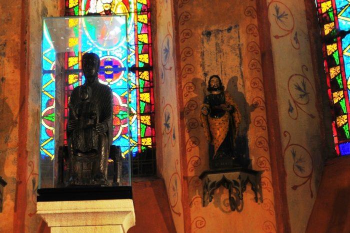 La vierge noire de St-Gervazy, Puy-de-Dôme, Auvergne