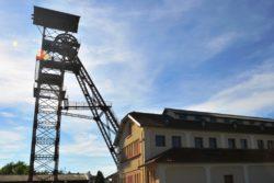 Bassin minier auvergnat, chevalement à La Combelle
