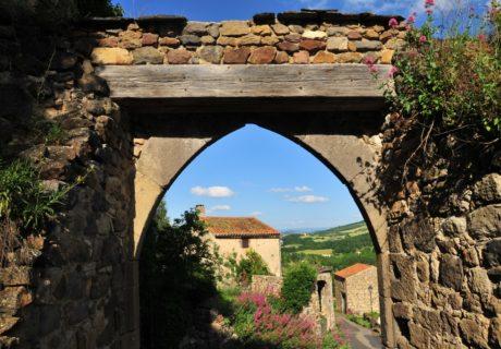 porte médiévale, Montaigut-le-Blanc