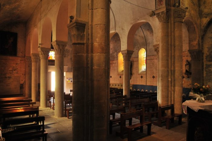 Eglise de Montpeyroux, un des Plus Beaux Villages de France, Puy-de-dôme, Auvergne