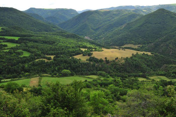 vallée courgoul, pays d'issoire, auvergne