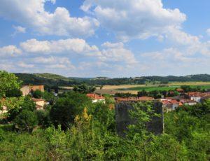 village d'orsonnette, puy-de-dôme, auvergne