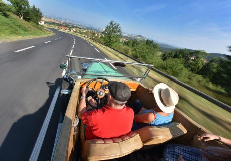 Issoire et ses environs en voiture de collection
