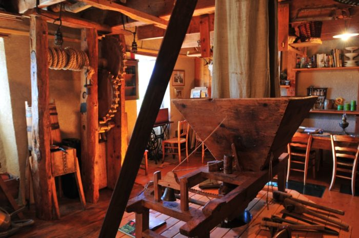 Découverte de la forge du luguet à Anzat-le -luguet