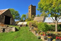 La tour de Besse à Anzat-le-Luguet