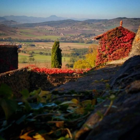 vue depuis Usson, Plus Beaux Village de France