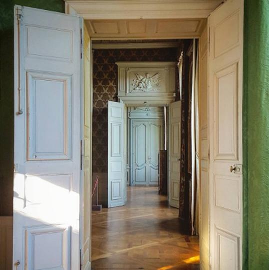 Visite du château de Parentignat