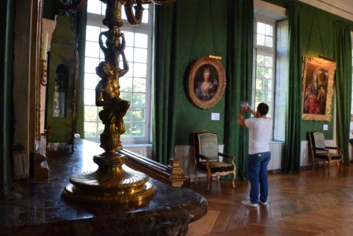 Photo dans le château de Parentignat