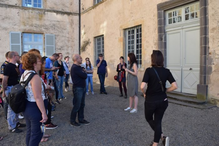 Visite guidée au château de Parentignat