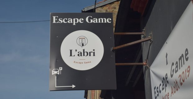 escape game l'abri à issoire
