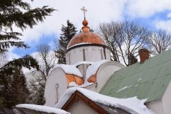 Monastére orthodoxe marcenat cantal