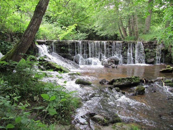 Cascade de Sauxillanges
