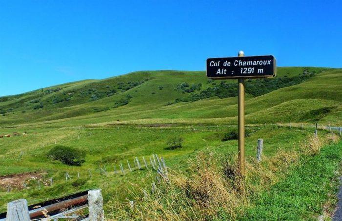 ANZAT LE LUGUET Col et mont de Chamaroux