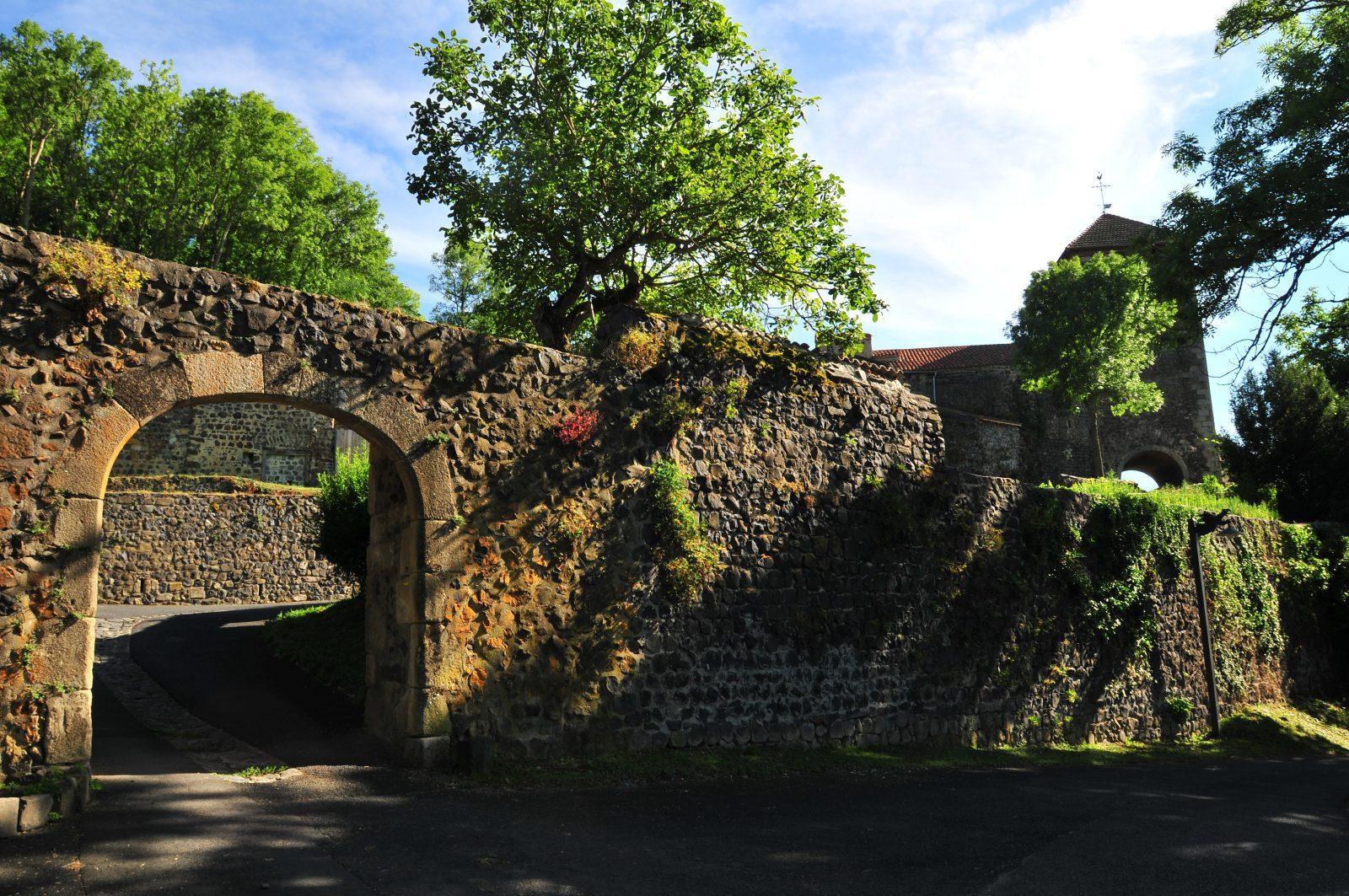 La Porte de france, Usson