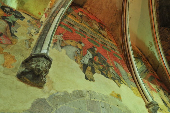 Salle du château de Saint-Floret