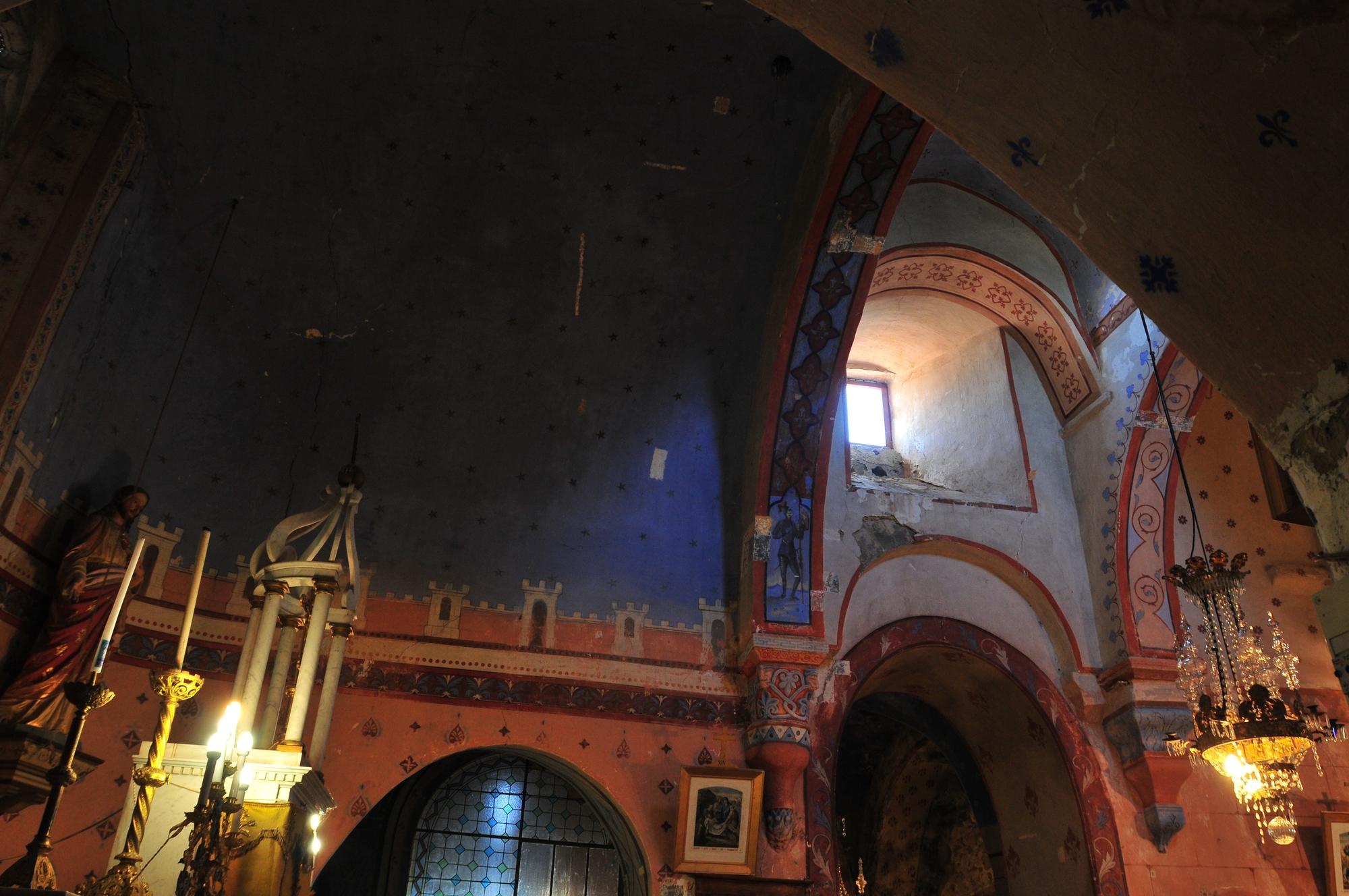 Intérireur,Mobilier, Eglise Saint-Maurice d'Usson