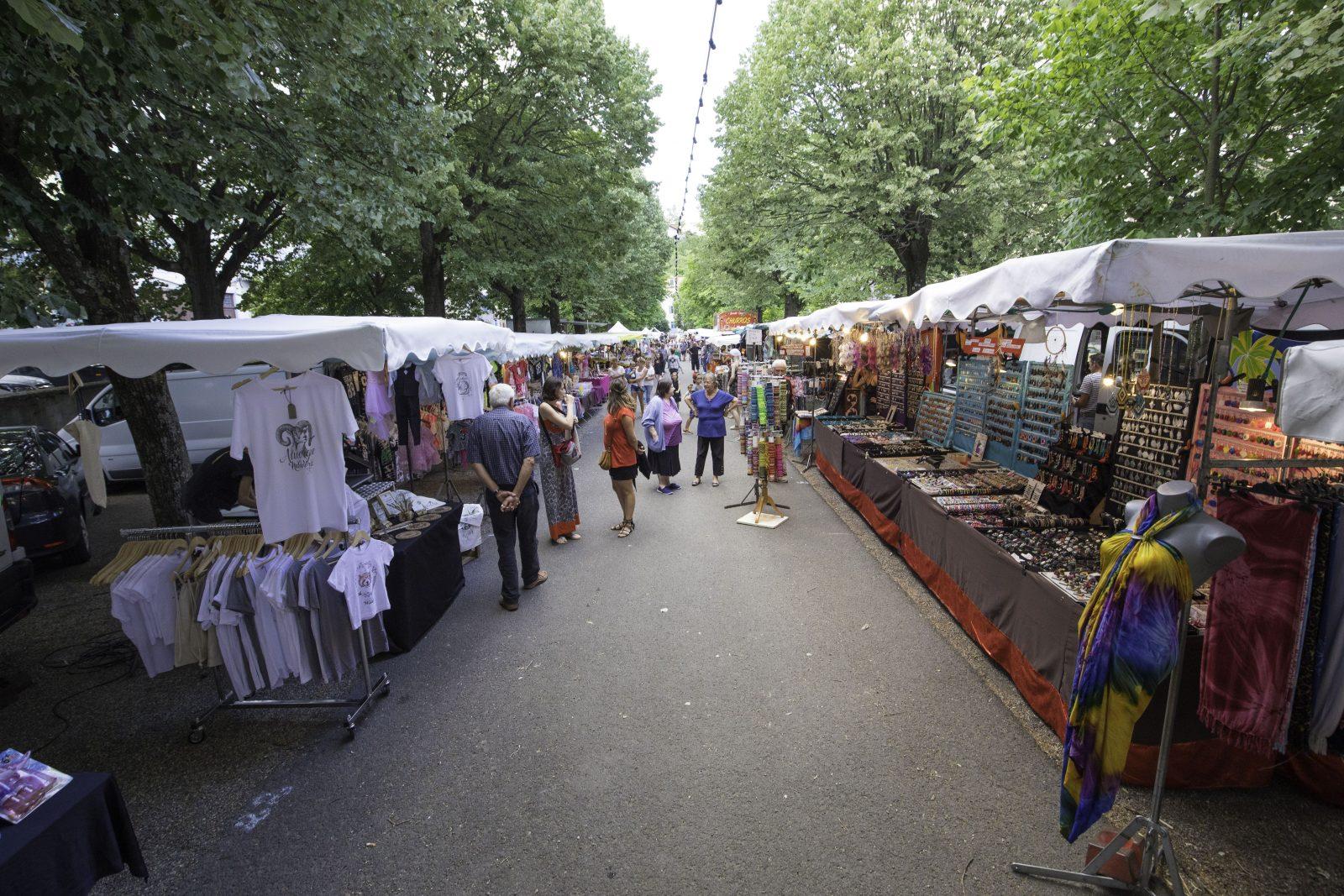 marché nocturne Champeix