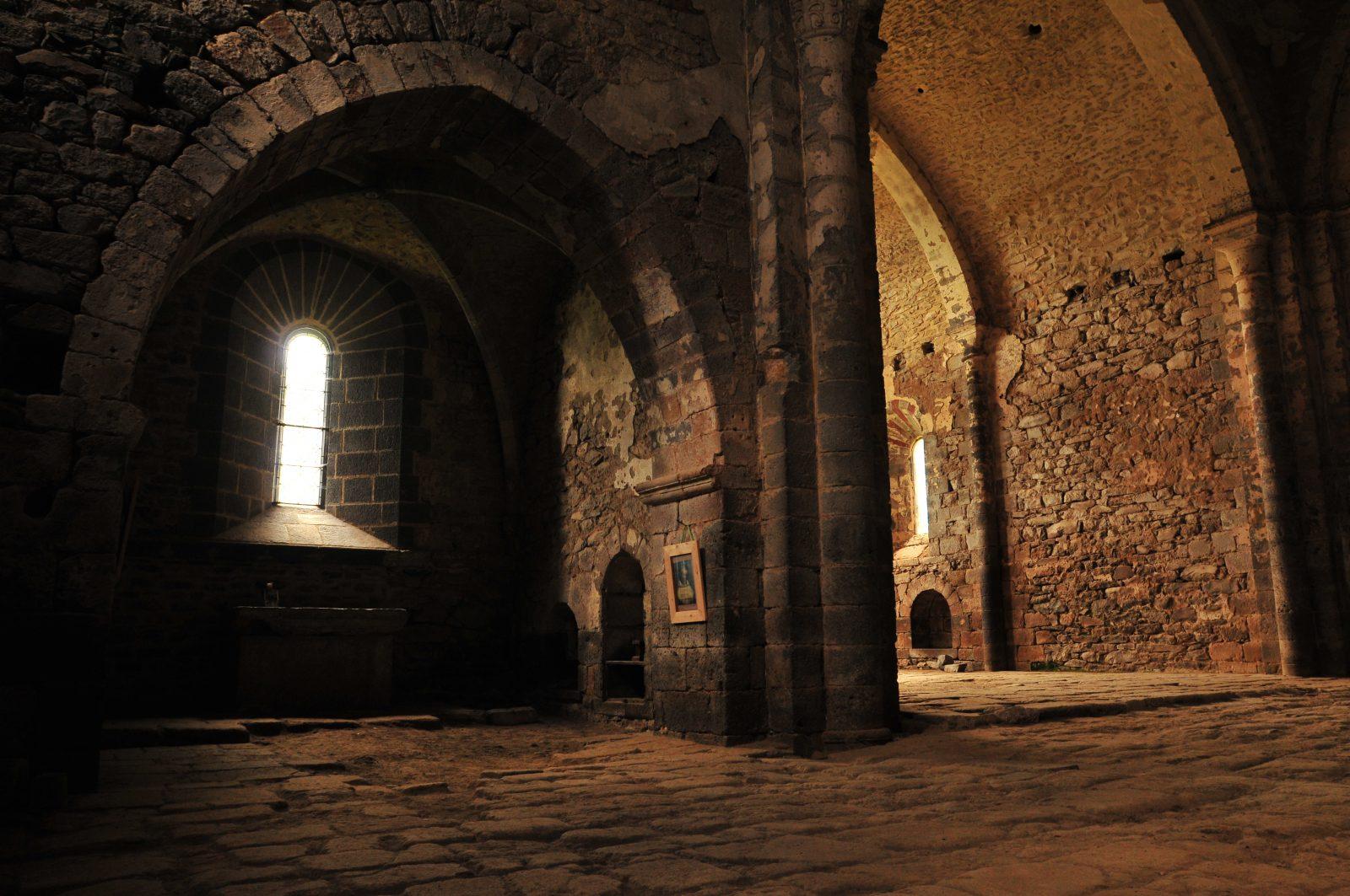 Abbaye de Mègemont – intérieur