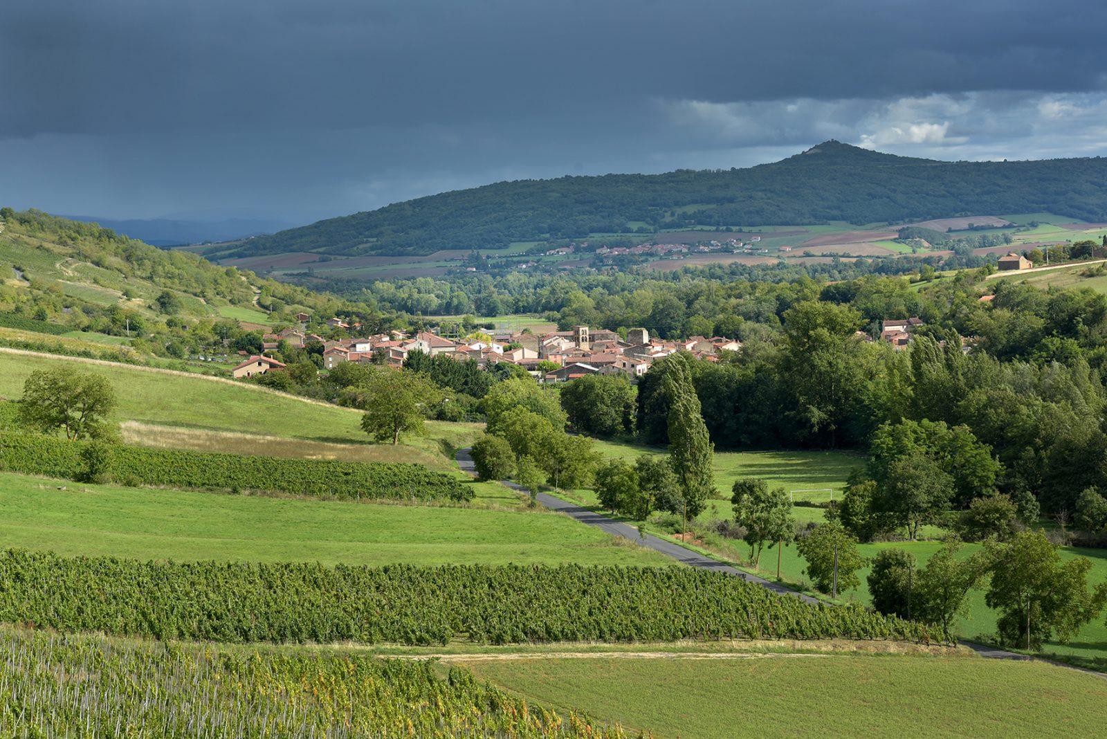 Boudes, village viticole