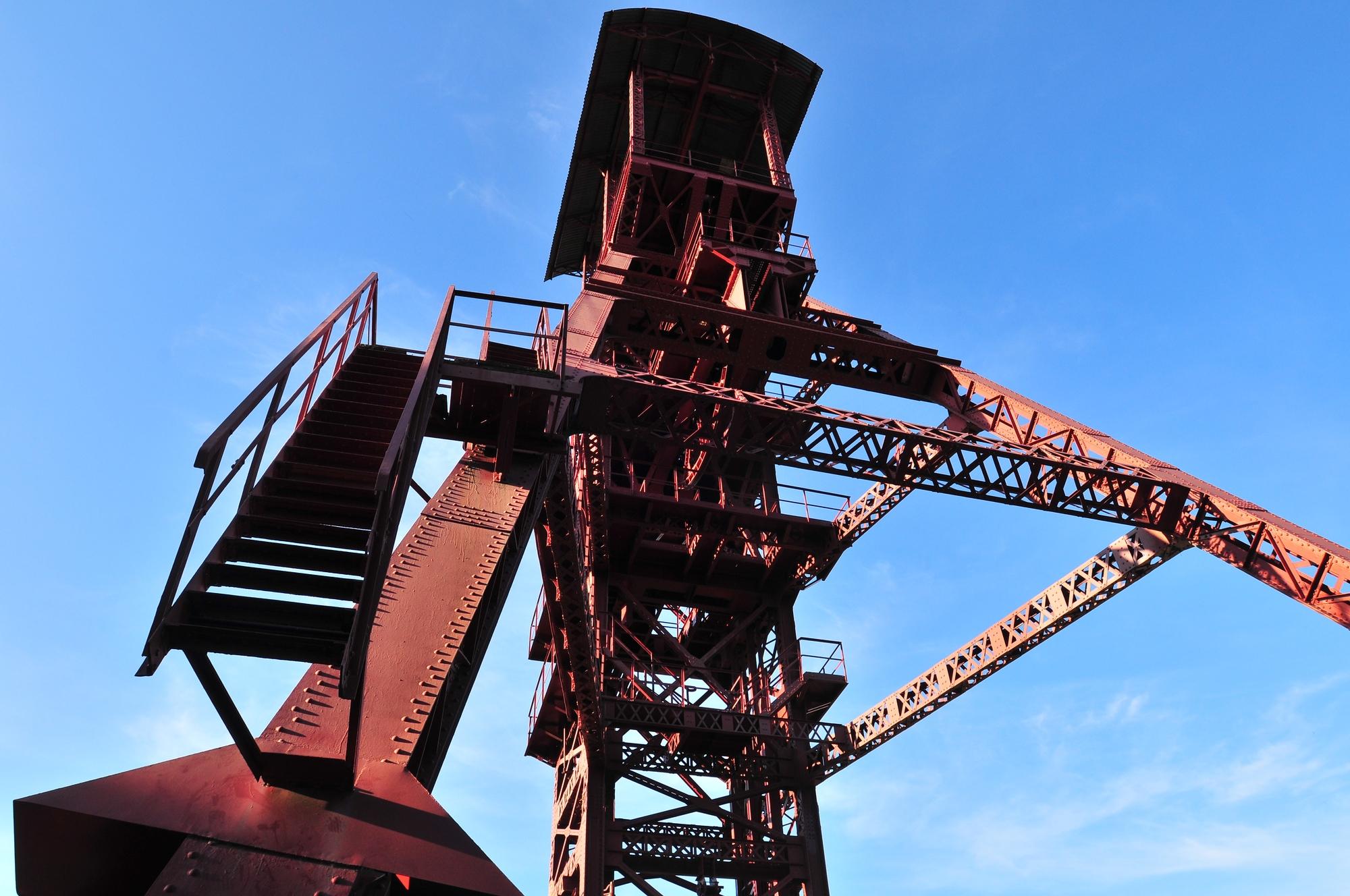 Le chevalement de bayard à Brassac-les-Mines